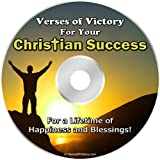 Verses of Victory for Christian Success! ** Encouraging & Inspirational Bible Verses for a Lifetime of Happiness and Blessings! ** Over 101 of the Best Bible Verses on CD! ~ Dr Jerry Fowler