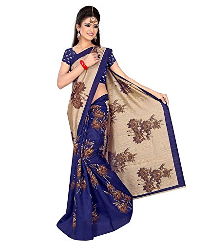 Yashoda Textile Multi Color Bhagalpuri Silk Printed Sarees With Un-Stitched Blouse Piece (1y.s_553_Multi)