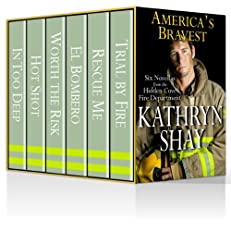 America's Bravest (In Too Deep, Hot Shot, Worth The Risk, El Bombero, Rescue Me, Trial By Fire) (Hidden Cove Series)
