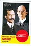 Orville Wright Wilbur Wright trading card 2009 Topps Heritage #42 (The Wright Brothers)