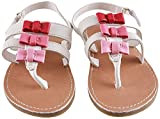 Lilsta Baby Girls' Pink Leather Flats- 6