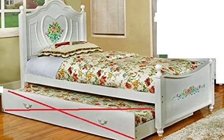 WelcomeiHome .INC Isabella I White Finish Full Size Bed Frame at Sears.com