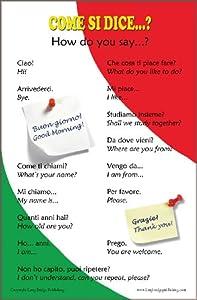 Italian Language School Poster: Italian words about family ...  Italian Language Chart