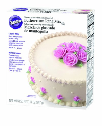 Wilton Creamy White Buttercream Icing Mix - 14 Oz.