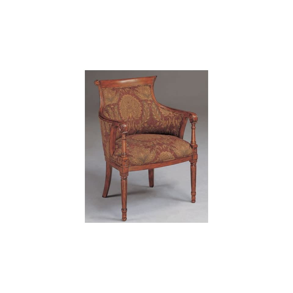 Phenomenal Savannah Island Hickory Accent Arm Chair Furniture On Popscreen Machost Co Dining Chair Design Ideas Machostcouk