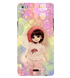 PRINTSWAG BABY GIRL Designer Back Cover Case for MICROMAX CANVAS SLIVER 5 Q450