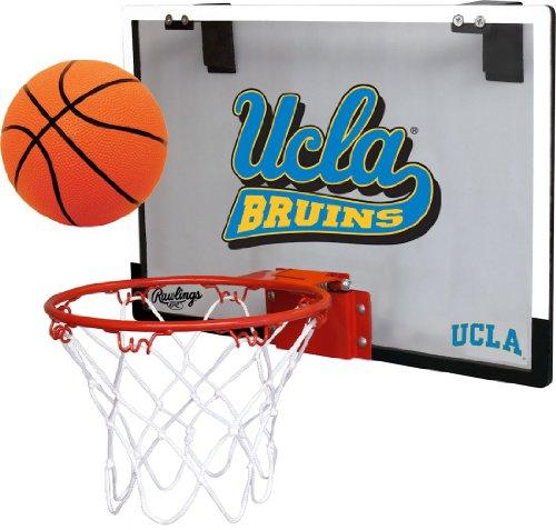 UCLA Bruins Backboard Basketball Hoop Set--(Package of 2) portable kids basketball stand set basket hoop backboard net play game toy sport