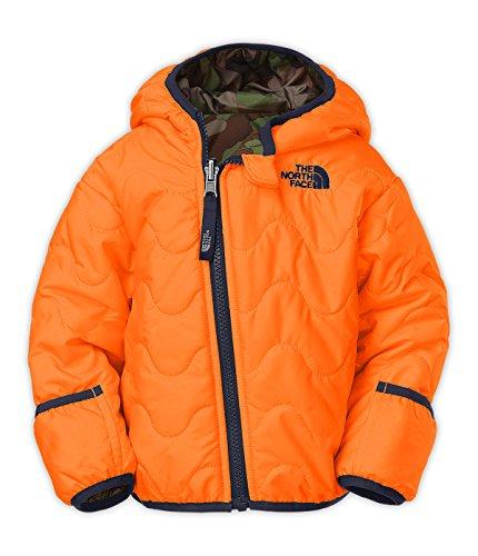 The North Face Infant Boys' Perriot Jacket- Peel Orange (6M)