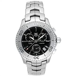 TAG Heuer Men s CJ1110 BA0576 Link Quartz Chronograph Watch