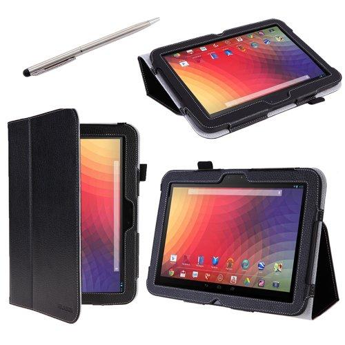 i-BLASON Nexus 10用スタンド機能付きケース(黒)&スタイラスセット