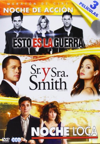 Pack: Esto Es La Guerra + Sr. Y Sra. Smith + Noche Loca [DVD]