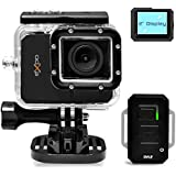 Pyle PSCHD90BK eXpo Hi-Res Mini Action Video Camera with 20 Mega Pixel Camera, 2-Inch LCD Screen and Wi-Fi Remote (Jet Black)
