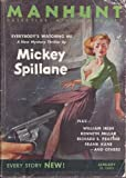 img - for MANHUNT Detective Story Monthly: January, Jan. 1953 book / textbook / text book