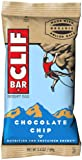 CLIF ENERGY BAR - Chocolate Chip - (2.4 oz, 12 Count)