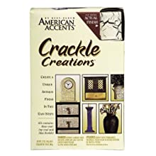 Rust-Oleum 7971802 Crackle Creations Spray, Antiqued Ivory, 12-Ounce, 2-Pack