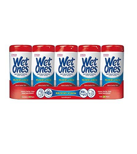 Wet Ones - Fresh Scent - 5 Pk. front-808048