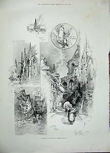 Abbazia 1896 di Mercato della Normandia Francia Falaife Trinite