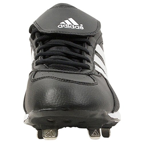 pictures of adidas Men's Excelsior 5 LX Baseball Shoe,Blk/Runwht/Metsil,7 M