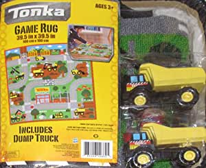 Tonka Game Rug w/ 1 Mighty Dump Truck