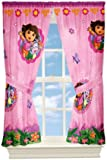 Nickelodeon Dora Fun In the Jungle Window Panels, 82 by 63-Inch