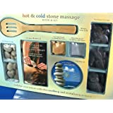 Hot & Cold Stone Massage Book & Kit with CD