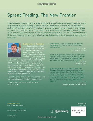 Option Spread Strategies: Trading Up, Down and Sideways Markets (Bloomberg Financial)