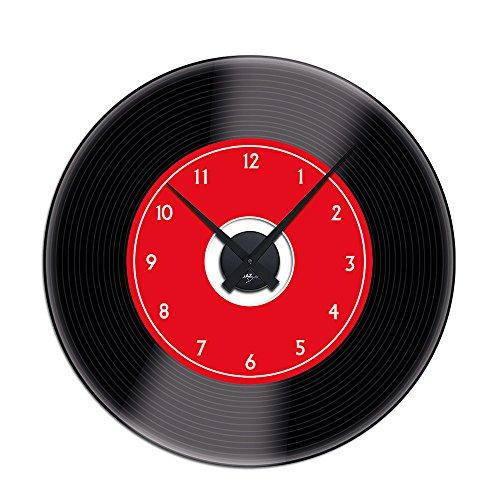 Sticker mural horloge avec mouvement horloge murale pour - Stickers muraux pour salon ...