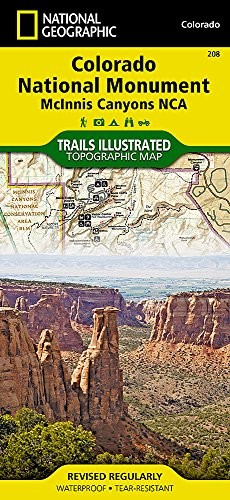 Colorado Nat.Monument Co (National Geographic Trails Illustrated Map)