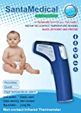 2-in-1 Professional Clinical RY210 Large LCD Non-contact Infrared Thermometer - Forehead and Surface
