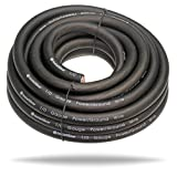 InstallGear 1/0 Gauge Ga Awg Black 25ft Power or Ground Cable True Spec and Soft Touch Wire