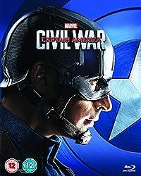 Captain America: Civil War (Captain America Limited Edition Sleeve) [Blu-ray] [2016]