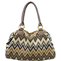 Bag Hand Flame Stitch Handbag Purse