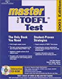 img - for Master the Toefl Test 2001 (Arco Master the TOEFL (W/CD)) by Sullivan Partricia Noble Zhong Grace Yi Qiu Brenner Gail Abel (2000-09-01) Paperback book / textbook / text book