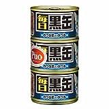 黒缶 毎日黒缶3P かつお節入りかつお 160g×3缶×18個入り
