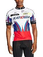 MOA FOR PROFI TEAMS Maillot Ciclismo Katiowa (Rojo / Blanco / Azul)