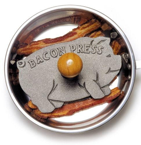 Get Norpro Cast Iron Pig Bacon Grill Press deal