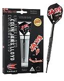Target Darts Pro Player Black Colin 'Jaws' Soft Tip Darts, 16gm