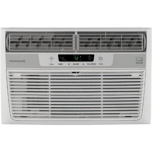 Frigidaire FFRE0833Q1 8,000 BTU 115V Window-Mounted Mini-Aphoristic Air Conditioner with Temperature Sensing Remote Control