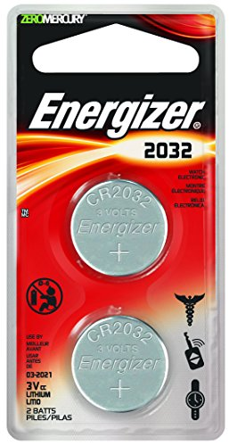 energizer lithium coin watch electronic battery 2032 2 count 039800032805. Black Bedroom Furniture Sets. Home Design Ideas