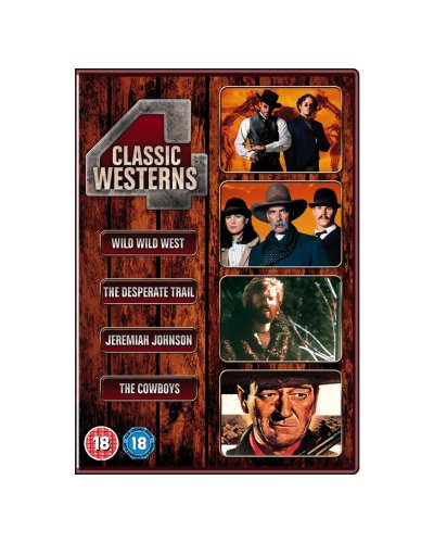 Classic Westerns (The Desperate Trail / Jeremiah Johnson / The Cowboys Deluxe Edition / Wild Wild West) [DVD]