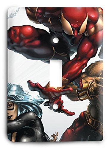 Sensational Spiderman v27 Light Switch Cover