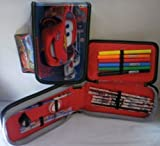 Disney Pixar Cars 2: 17pc Clamshell Pencil Case