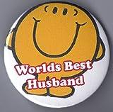 * Worlds Best Husband * Fridge Magnet - Ideal Gift