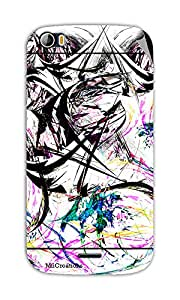 Miicreations Mobile Skin Sticker For Micromax canvas doodle-2-A-240,Art
