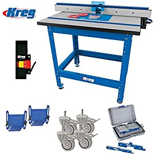 Kreg Prs1045 Precision Router Table Built In Micro