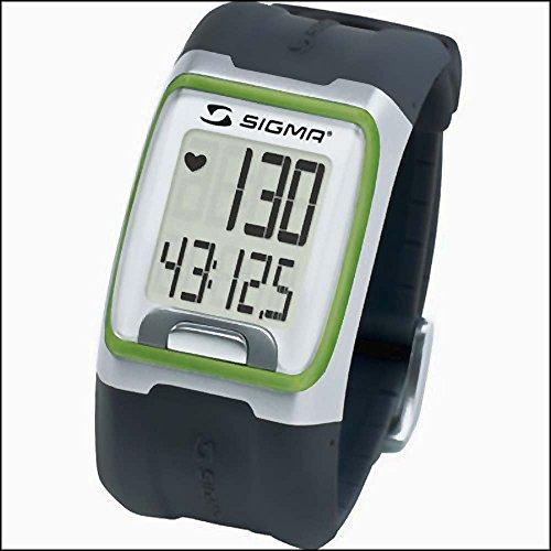 Sigma PulsUhr PC3.11EKG-genau grün Pulsmessgerät Laufuhr clock pulse Bike Uhr