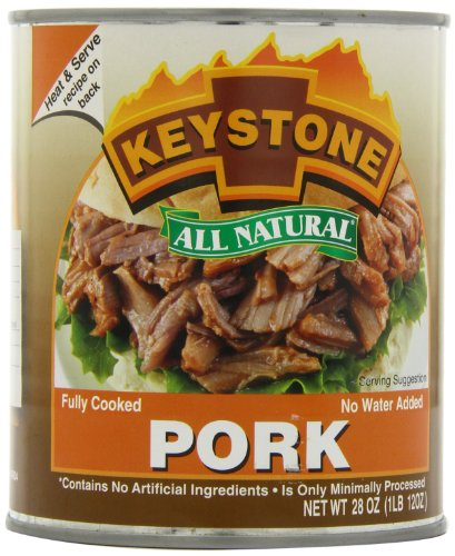 Keystone Meats All Natural Canned Pork, 28 Ounce (Keystone Canned Meat compare prices)
