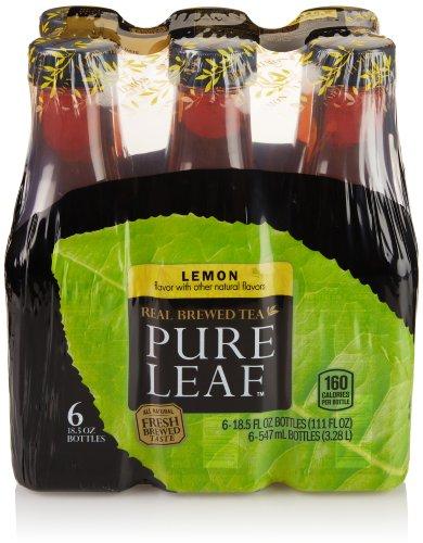 Pureleaf Iced Tea, Sweet With Lemon, 18.5 Oz Bottle (6-Pack)