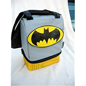 Batman Dual Compartment Lunch Bag