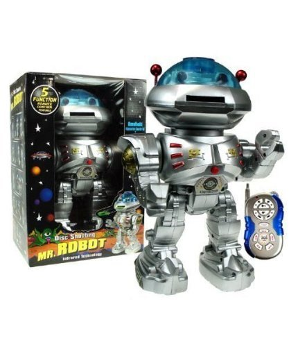 Mr Robot Remote Disc Shooting Robot